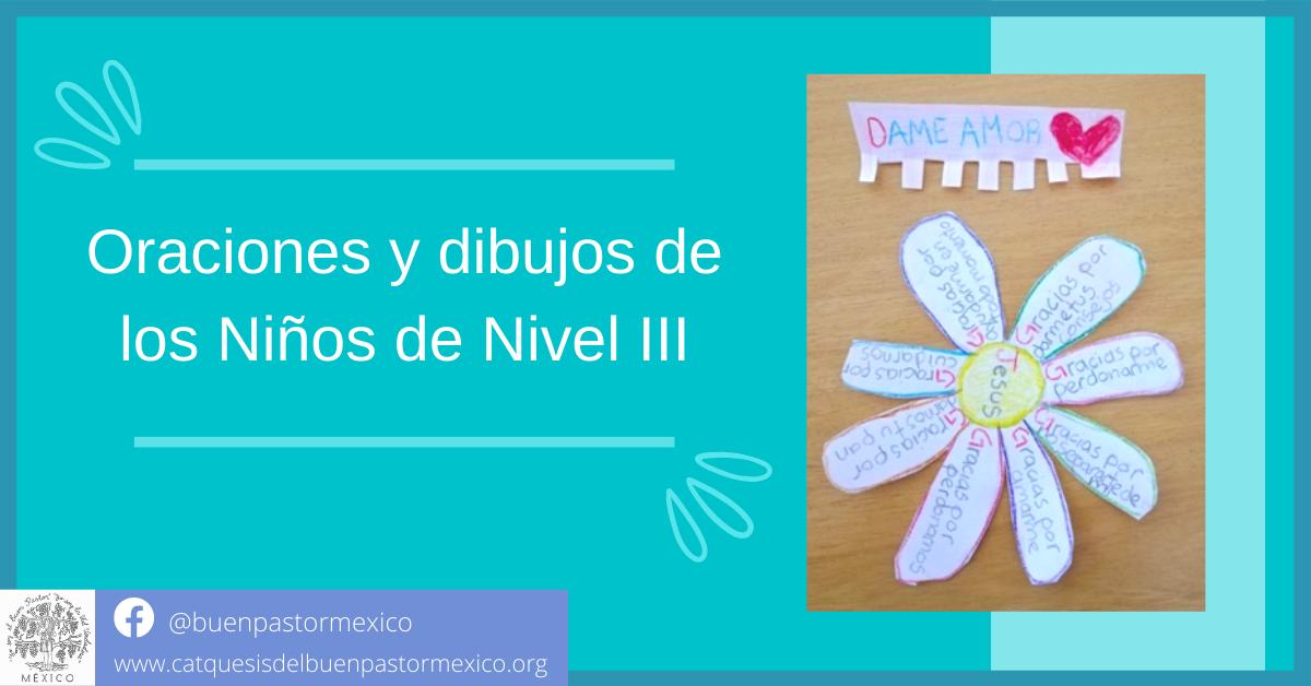 28. Oraciones y dibujos de los Niños de Nivel III