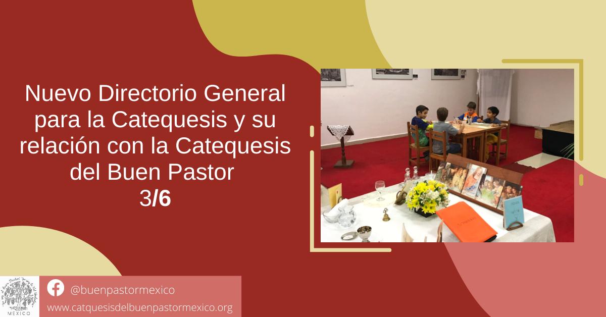 Protegido: 36. Nuevo Directorio General para la Catequesis y su relación con la Catequesis del Buen Pastor 3/6