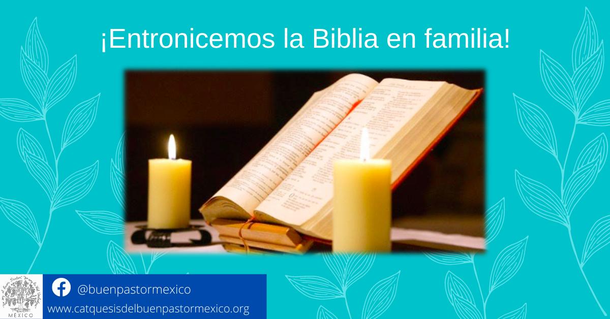13. ¡Entronicemos la Biblia en familia!
